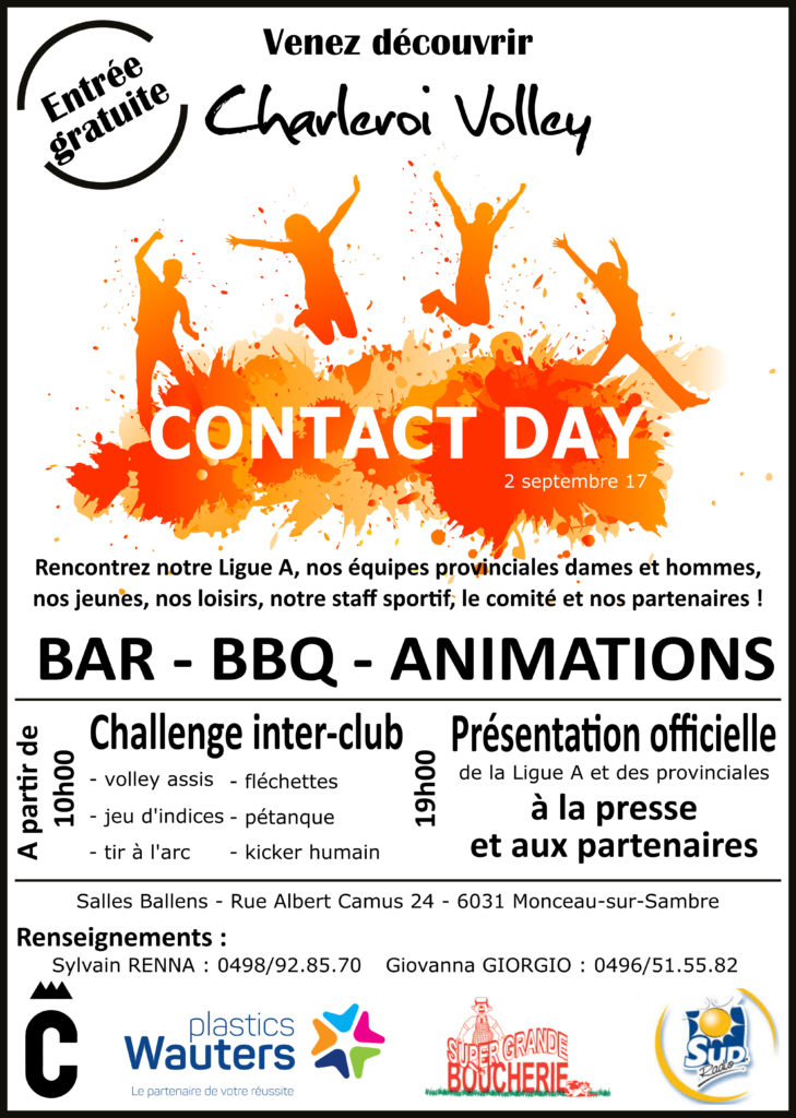 Contact Day - Affiche